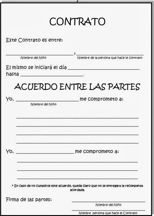 Contratos Conductuales Con Ni Os Y Adolescentes Hacemos